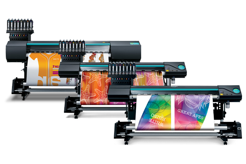 Roland Dye-Sublimation Printers for Canopy Printing