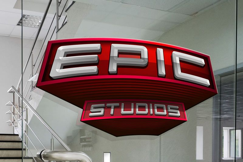 epic studios decal