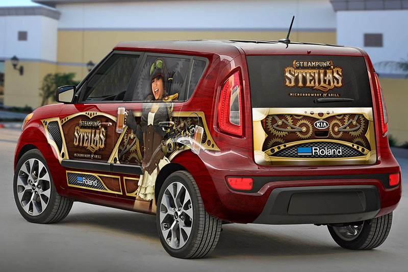 commercial printing vehicle wrap