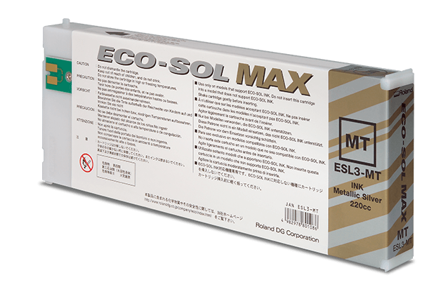 eco-sol max metallic silver cartridge