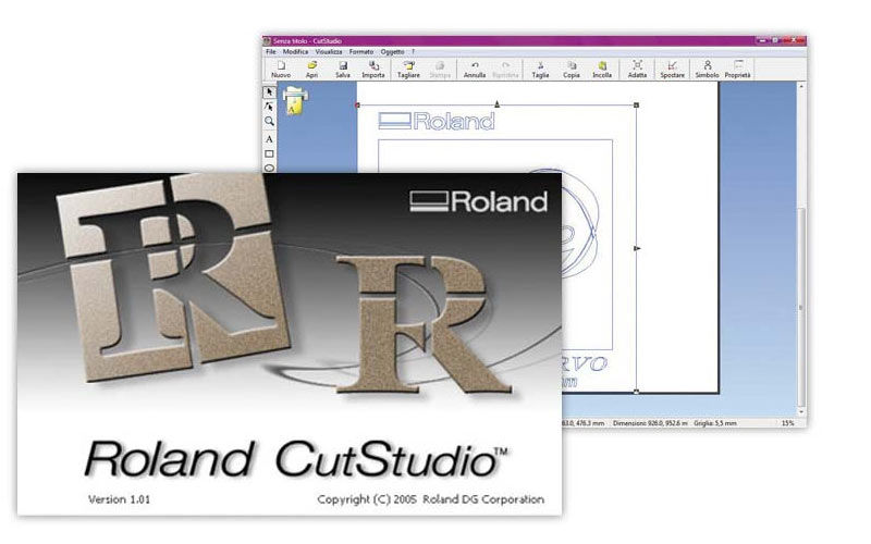 Software CutStudio de Roland