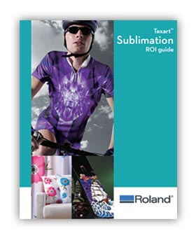 Texart Sublimation ROI Brochure