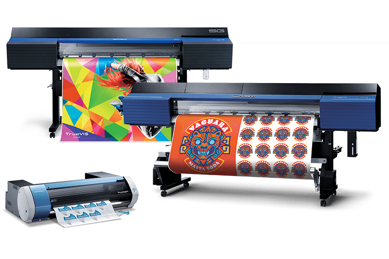 Roland Eco-Solvent Printer/Cutters