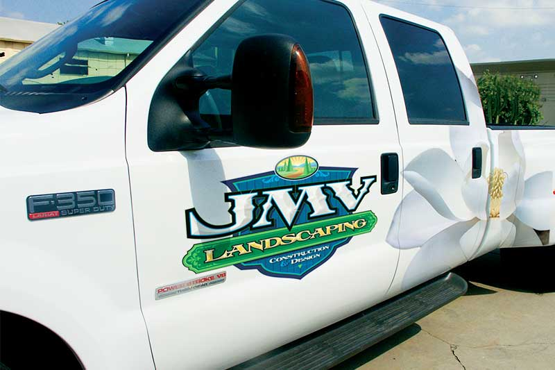 Vehicle applications fleet graphics