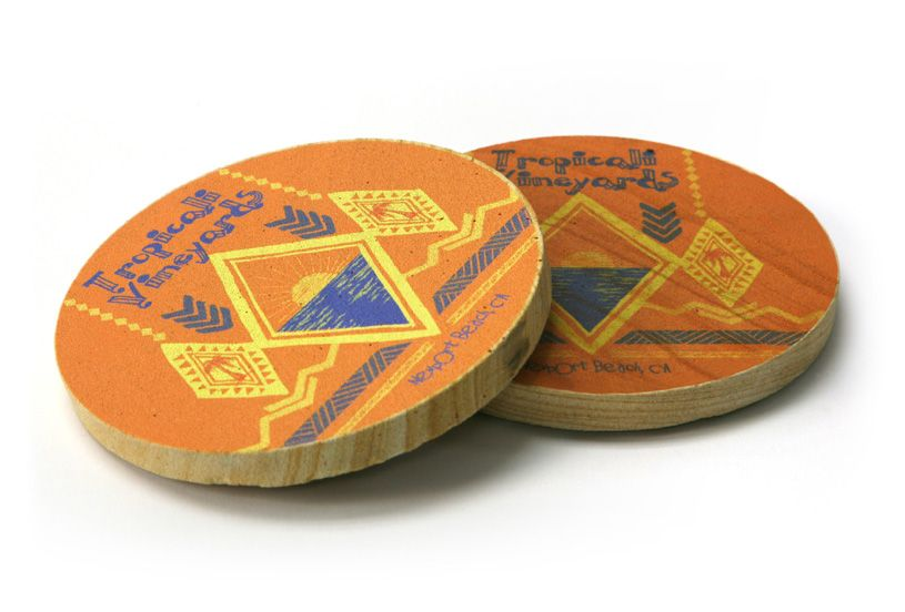 Coasters - Wood Applications
