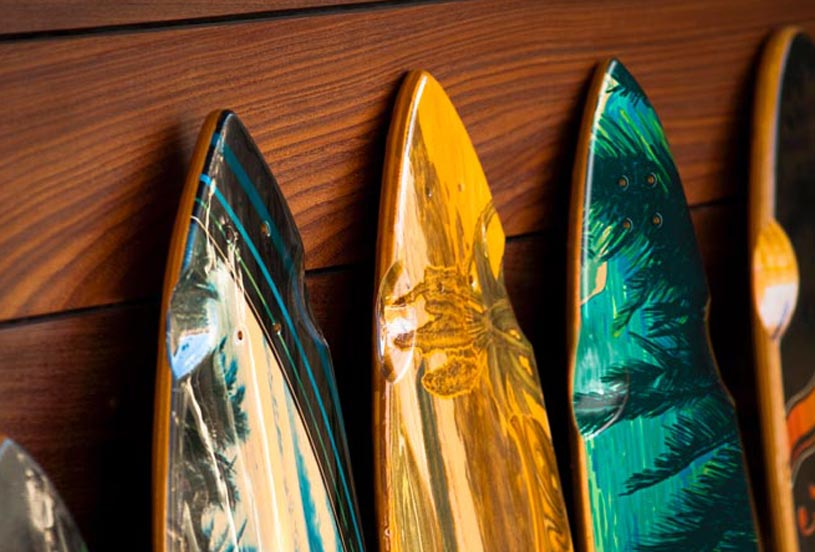 Surf boards - Wood Applications