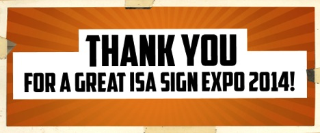 ISA Sign Expo 2014