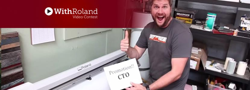 With Roland Video Contest