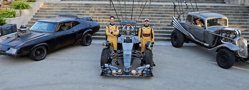 Lotus Mad Max F1 car