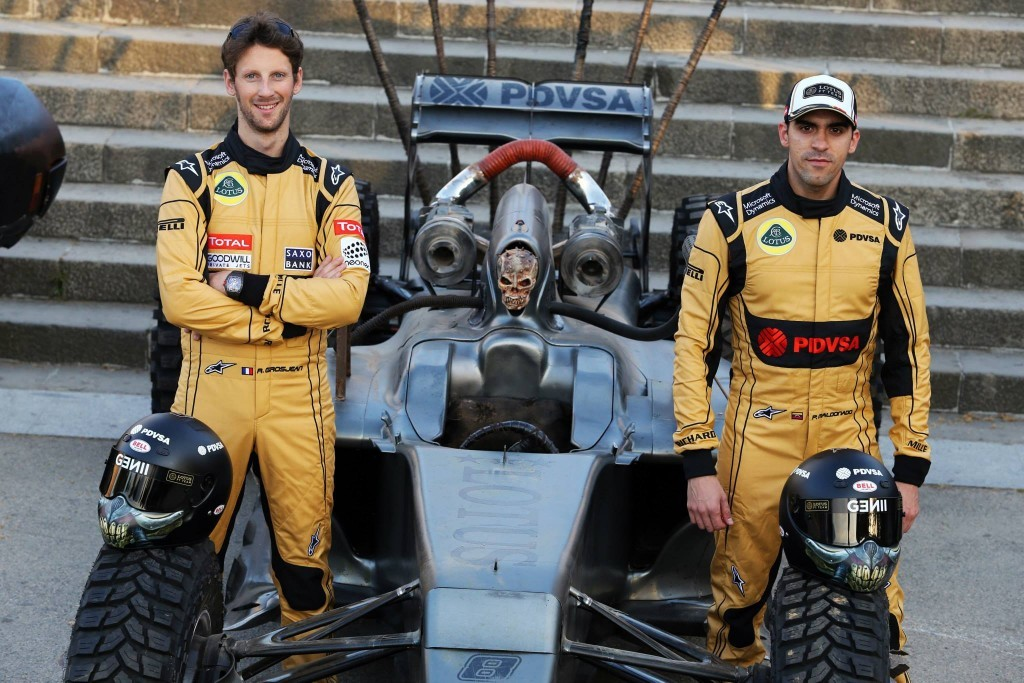 Lotus F1 Max Mad Fury Road themed formula 1 car