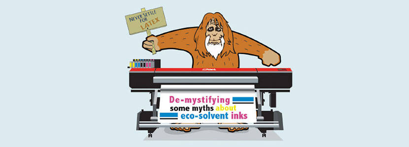 eco-solvent ink myths
