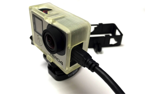 GoPro housing 3D printed