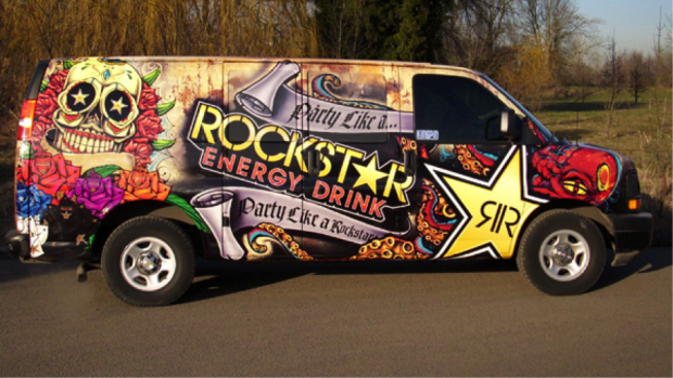 rockstar energy drink wrap design