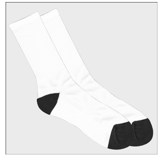dye sublimation socks