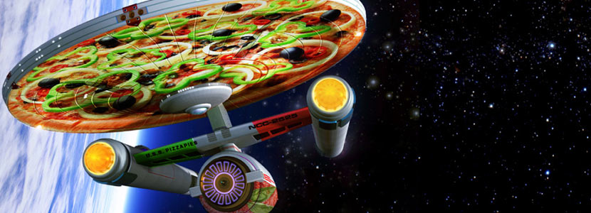 Starship Enterprise wrap