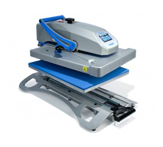 Swing away heat press by Hotronix