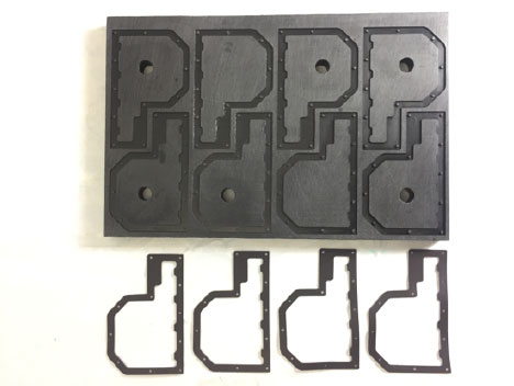 CNC prototyped gaskets