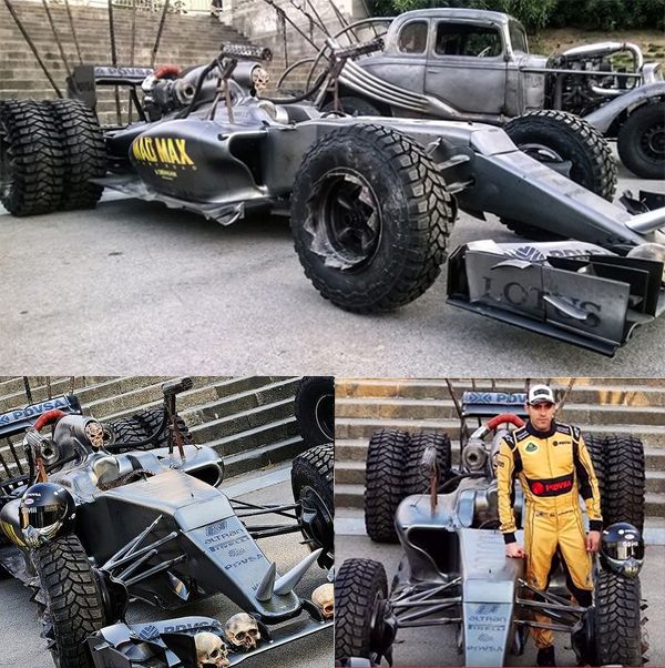 Roland Rat Wrap Lotus Mad Max