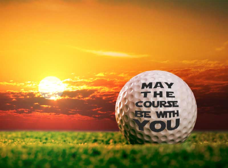 personalized golf ball messages