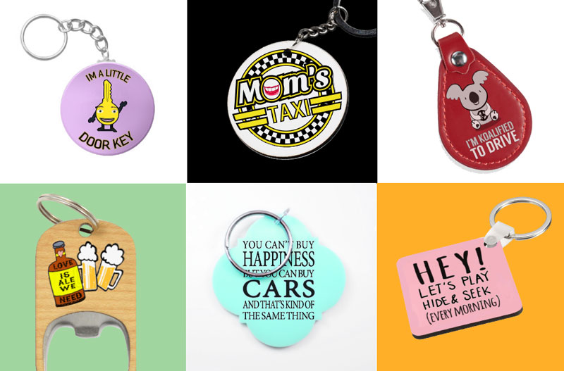 funny keychain personalization
