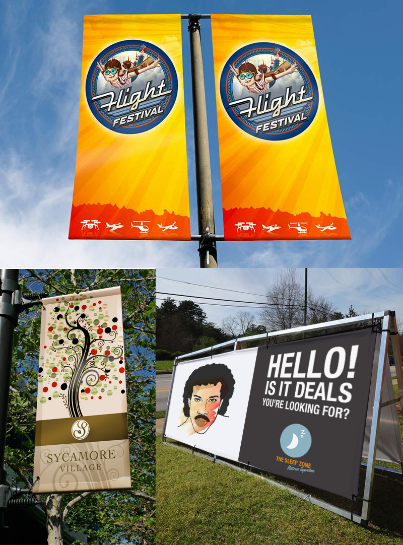 Print On Outdoor Banners And Promotions