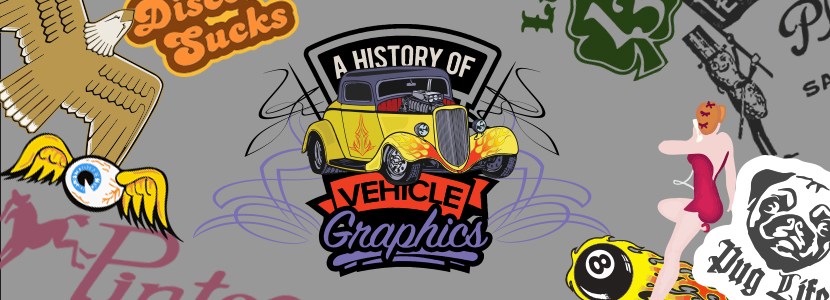 vehicle graphics history infographic