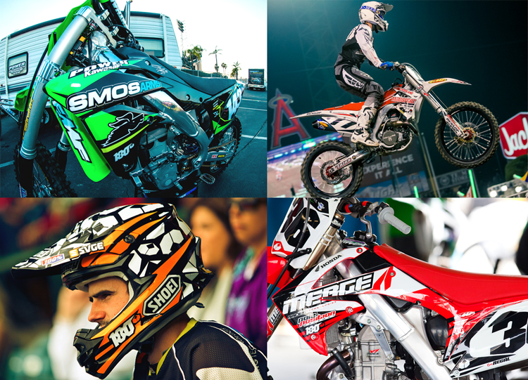 Motorcross bike graphics