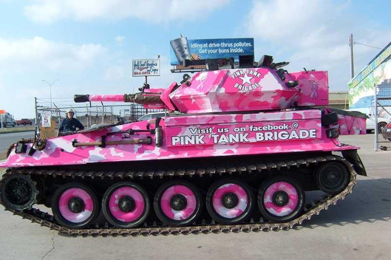 pink tank wrap