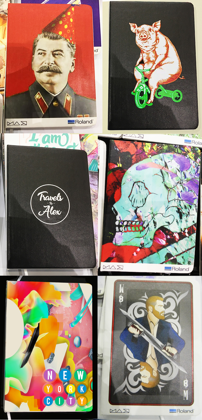 Adobe MAX art on Journals