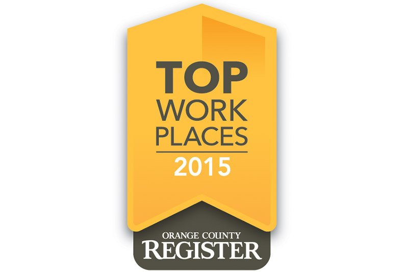 OC Register Top Workplace 2015