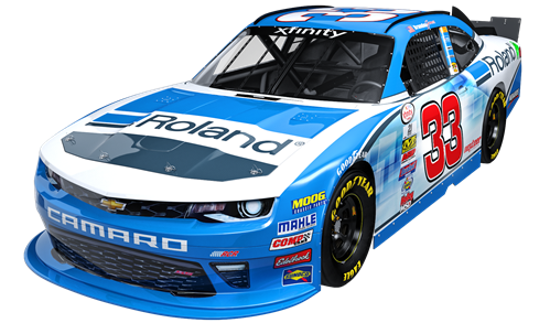 Roland Wrap No 33 Chevrolet Richard Childress Racing