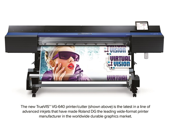 The new TrueVIS VG-640 printer/cutter