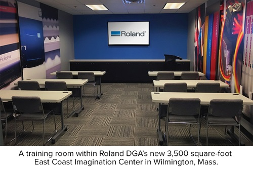 Training Center within Roland DGA East Coast Imagination Center