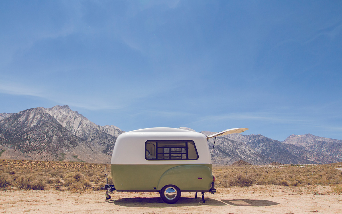 Happier Camper Trailer that Roland DGA will wrap at SGIA 2016