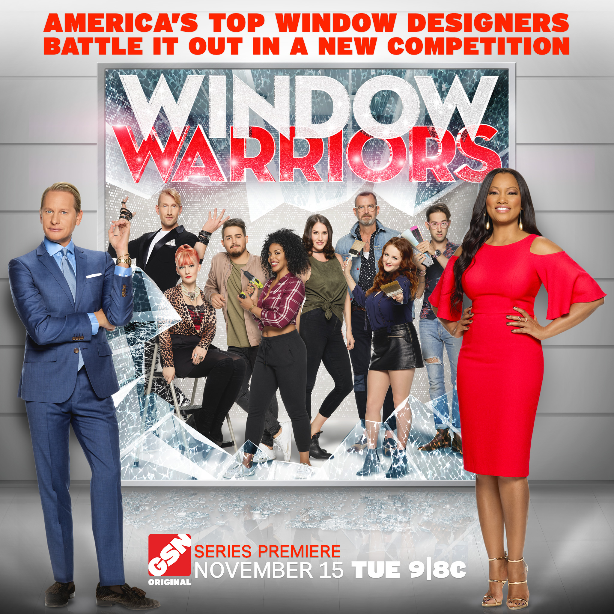Window Warriors Promo Poster Image