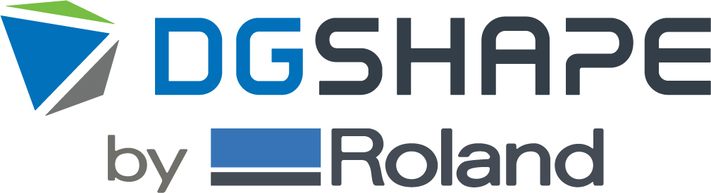 Logotipo DGSHAPE by Roland
