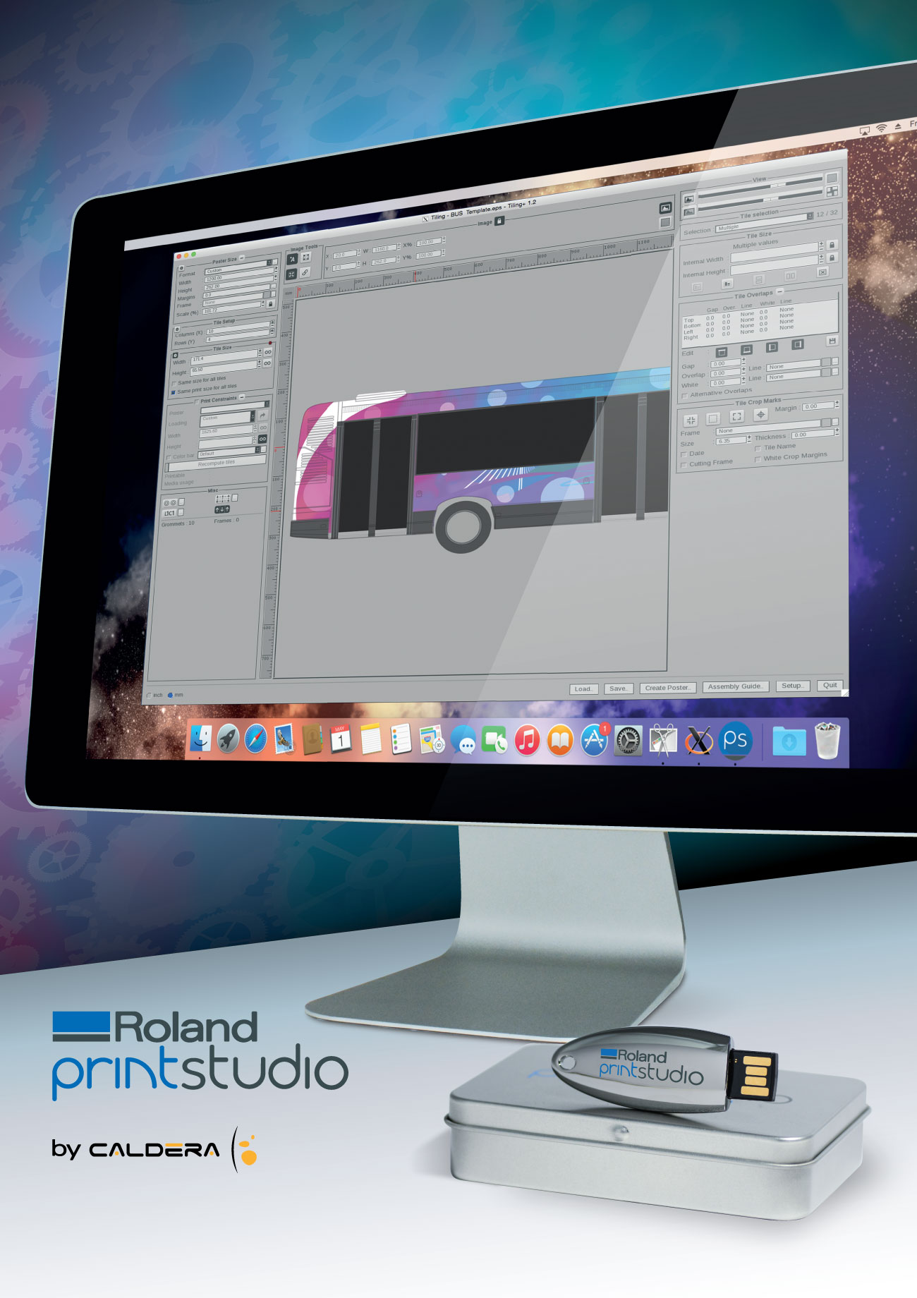 New Roland PrintStudio by Caldera RIP Software Release for Mac OS Users