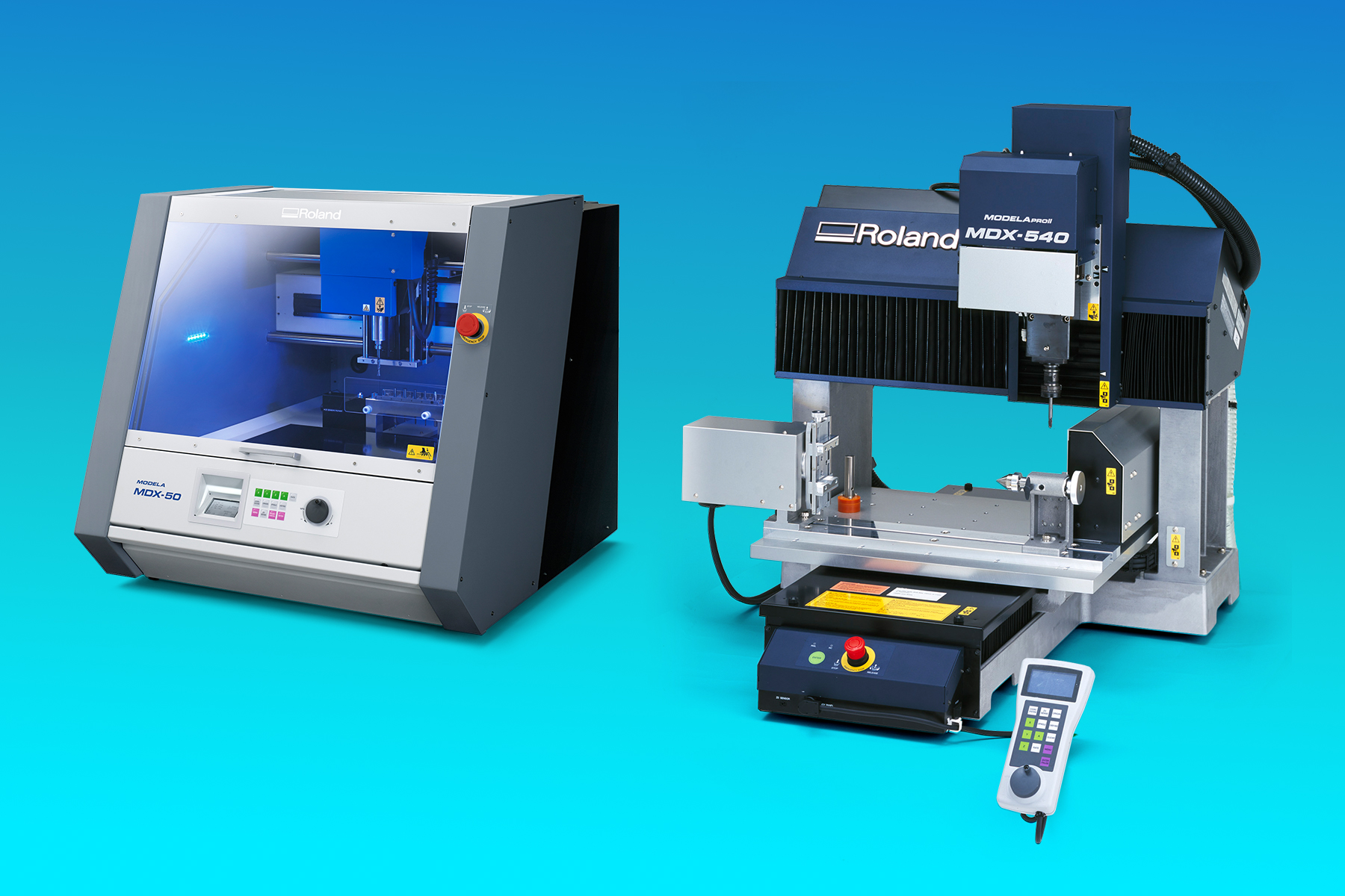 Roland's Open Architecture MDX Series Milling Machines