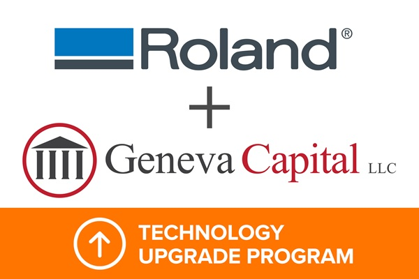 Roland DGA launches new Technology Upgrade Program.