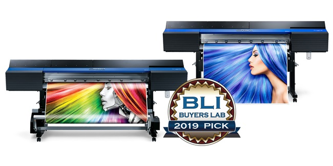 Roland DG's VG series printer/cutters win two prestigious Buyers Lab Awards