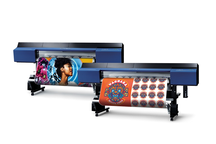 Image of Roland DGA's new TrueVIS VG series wide-format printer/cutters.