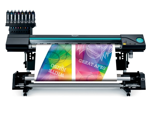 Roland's new Texart RT-640M multi-function dye-sublimation printer