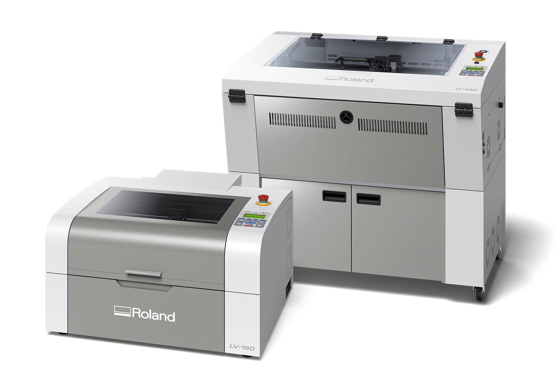 Roland DGA announces the launch of its new LV series laser engraving machines.