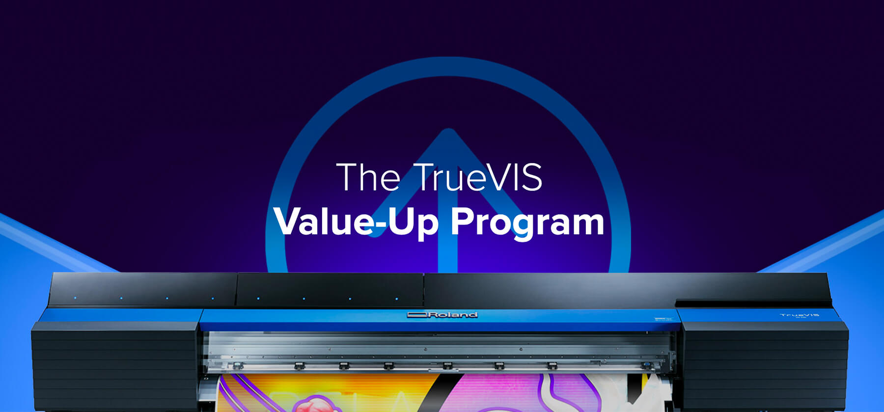 Roland DGA Launches New TrueVIS Value-Up Program