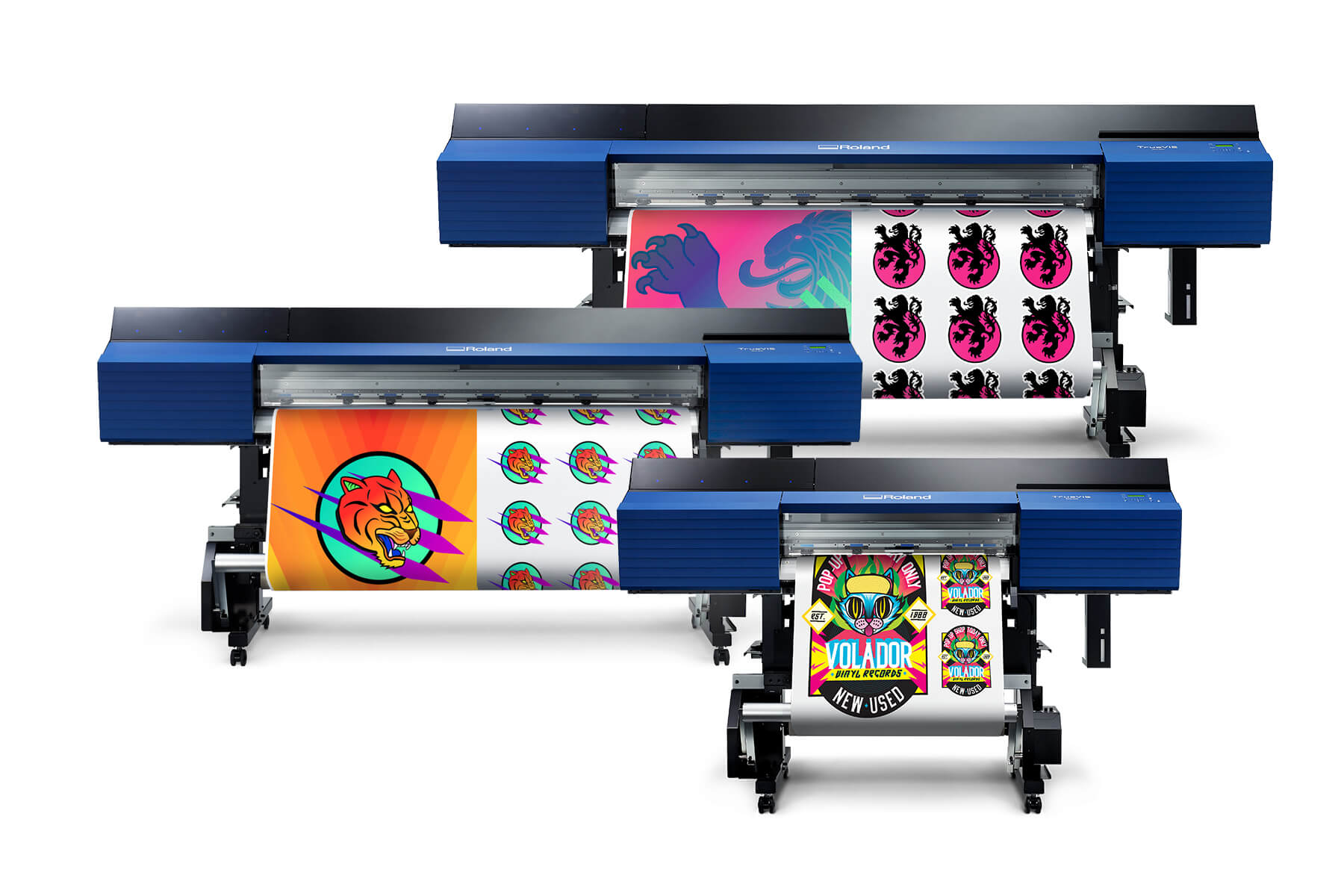 Roland's newly launched TrueVIS SG2 series wide-format printer/cutters