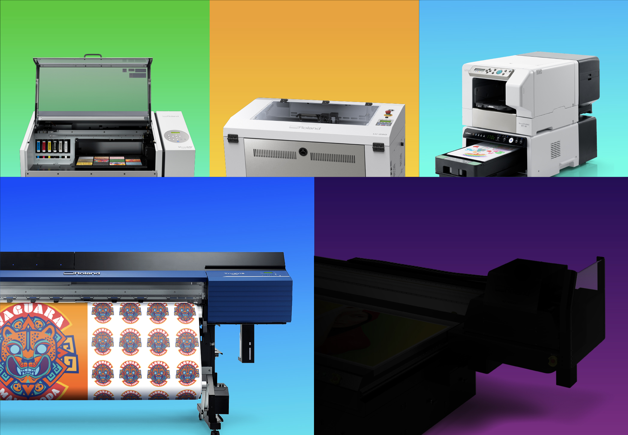 Roland DGA to Showcase 10 New Products at PRINTING United 2019.