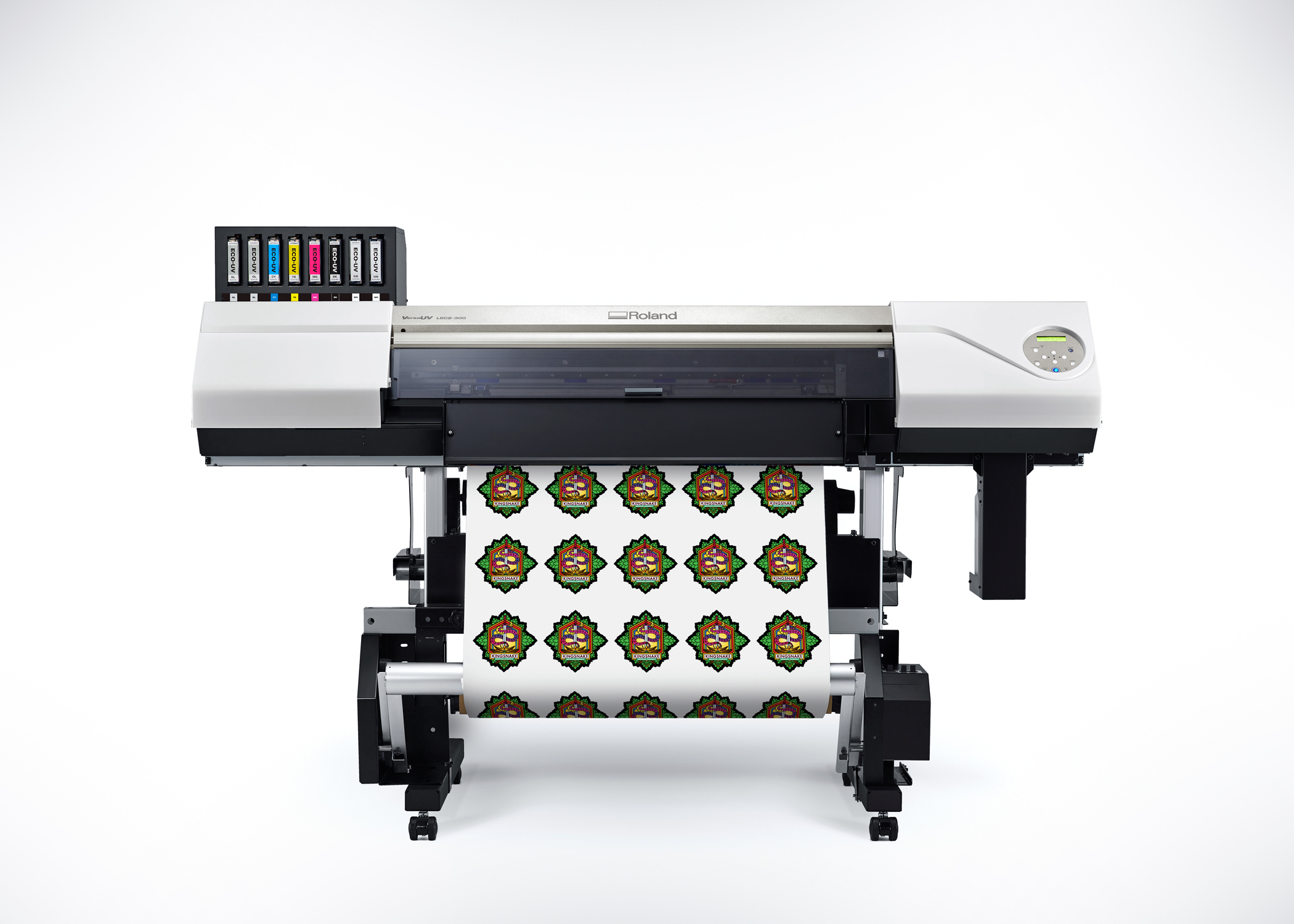 The new Roland VersaUV LEC2-300 UV printer/cutter