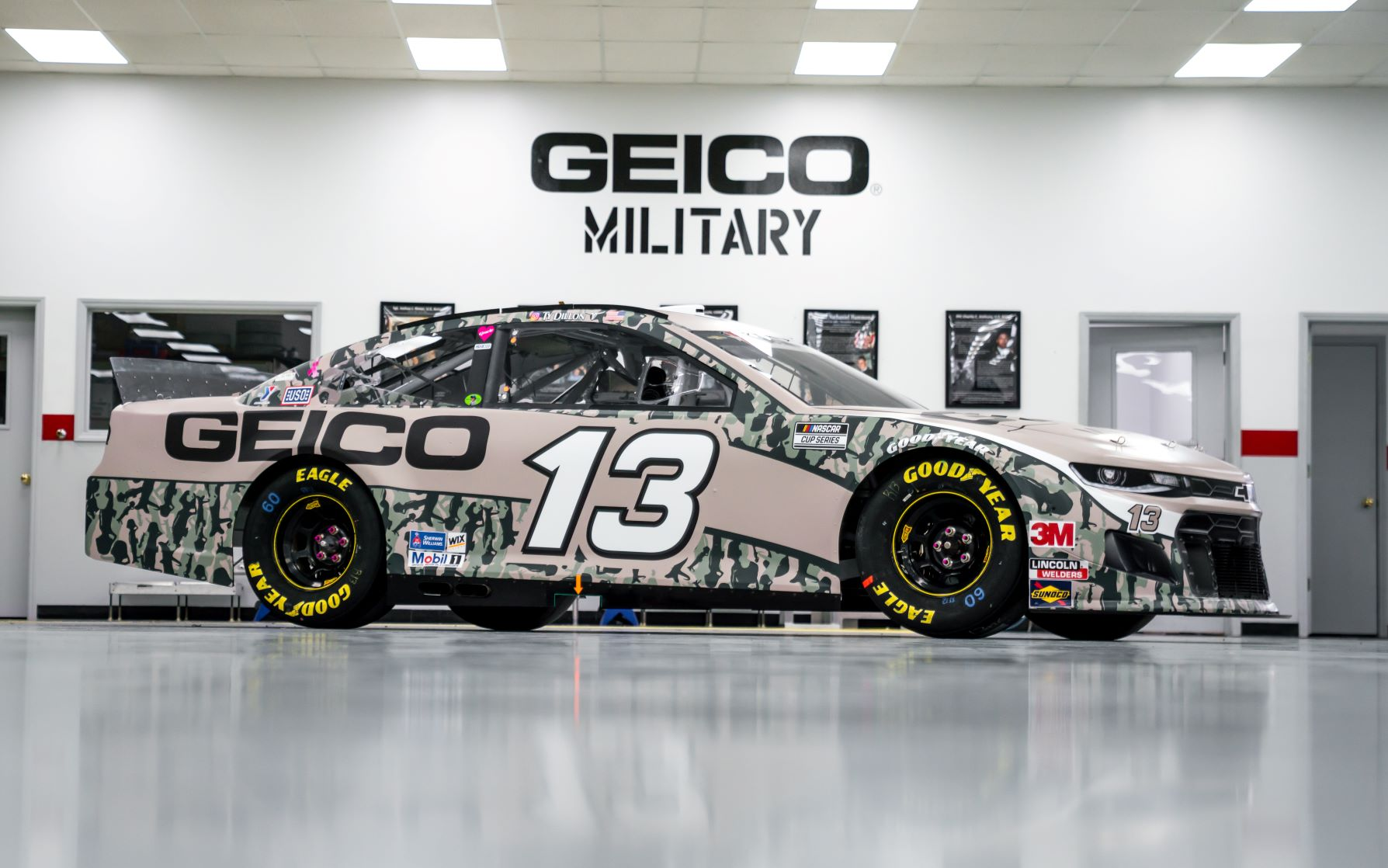 "Richard Childress Racing's graphics team is adapting to NASCAR's ""new normal."""