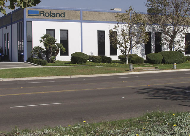 1990 The newly formed Roland DGA Corporation moves to Irvine, California.