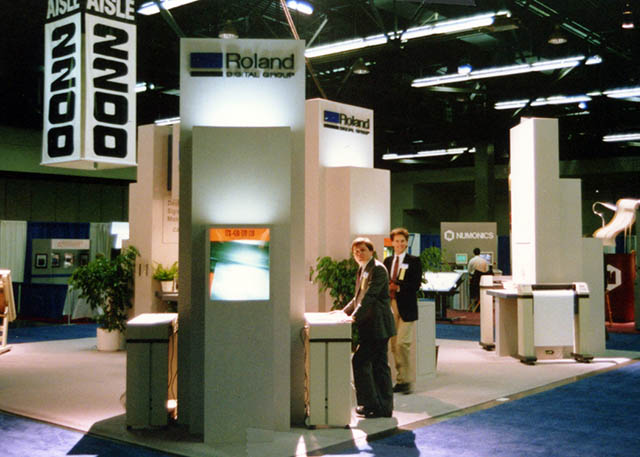 1992 Roland achieves sales of $9 million and continues to chart its course in the sign and digital graphics markets.